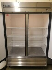 True T49 Two Door Reach In Commercial Stainless Steel Refrigerator Cooler