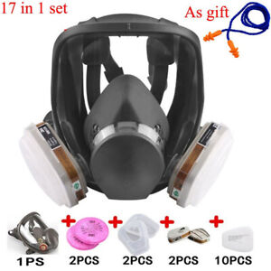 17 In 1 6800 Full Face Painting Spraying Safety Respirator Gas Mask
