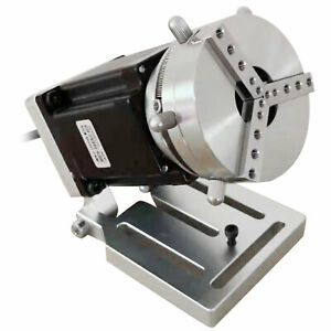Md542a Rotary Axis Chuck Fixture 3 jaw Fit For Cnc Router Engraver Fast Shipping