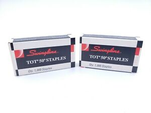 Vintage Swingline Tot 50 Mini Staples 79312 A5