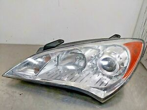 2009 2010 2011 2012 Hyundai Genesis Coupe Driver S Left Side Halogen Headlight