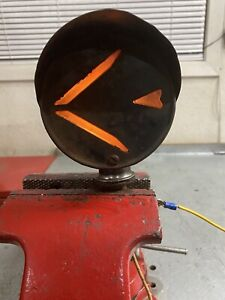 Vintage Arrow Hooded Turn Signal Light Hot Rat Rod Truck Model A T Ford Chevy