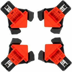 4 Right Angle 90 Corner 45 Woodworking Clamps Multi Function 90 Degree Quick