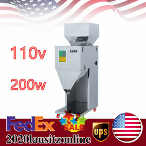10 999g Automatic Powder Racking filling Machine Weigh Filler Tea Seed 110v