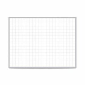 Ghent Grid 2 x3 Magnetic Whiteboard Aluminum Frame 2 Grid Squares Grpm322g 23