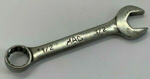 Mac Tools Usa 1 2 Sae Stubby Combination Wrench 12 point Short Offset Combo