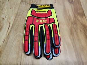 Ringers 347 Extrication Tpr Protected Hi Vis Reflective Work Gloves Size Xl