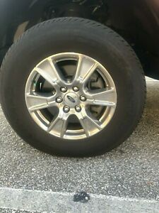 Ford Rims And Continental Tires