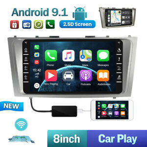 For Toyota Camry 2008 2011 Car Radio Android Apple Carplay 2 Din Android 9 1
