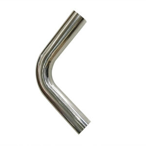 3 76mm 90 Degree T 304 Stainless Steel Exhaust Tube Pipe Piping Tubing 2ft
