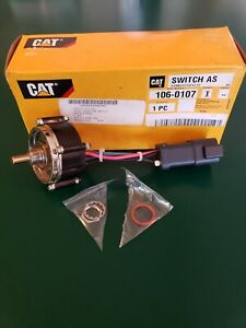 Cat Excavator Throttle Control Assembly 106 0107