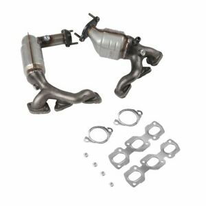 3 way Catalytic Converter Set Fits For Ford 3 0 L 2001 2006 Exhaust Manifold