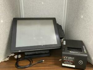 Protect Systems 15 Restaurant Bar Pos Terminal System Pa 6225 With Printer