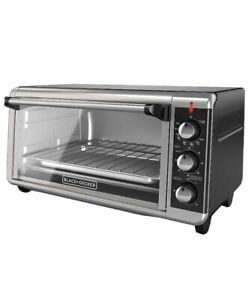 Black decker 8 Slice Extra Wide Convention Counter Top Toaster Oven