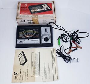 Sears Engine Analyzer Model 161 2161 W Box And Manual Ignition Starter Tester