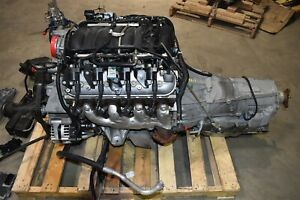 2014 Camaro Ss L99 Ls3 Complete Engine 6 2l Automatic Trans Drop Out 86k Aa6756