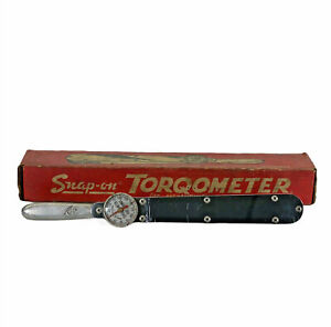 Vintage Snap On Tools Corp Usa Torqometer Tq 150 L Torque Wrench 1 2