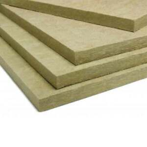 Delta 8 Insulation Mineral Wool Board High Temperature 3 X 24 X 48 lot Of 4