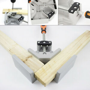 90 Degree Corner Clamp Right Angle Woodworking Vice Wood Metal Welding Tool Usa