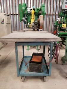 Benchmaster Press Model 22 Mounted On Cart Serial 28795