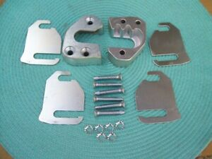 New Reproduction 1964 1966 Dodge Plymouth A body Door Striker And Shim Kit