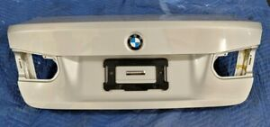12 18 Oem Bmw F30 328 335 F80 Sedan Rear Trunk Lid Panel Deck Assembly Silver
