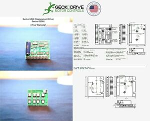 Gecko G540 g250x Replacement Drives 3 Pack 2020 Model 3yr Us Warranty
