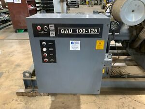 Atlas Copco Gau 100 125 Rotary Screw Air Compressor 3 Ph 100 Hp
