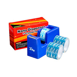 Office Desktop Tape Dispenser With 5 Roll Crystal Tape 0 79 X 790 In Total Of