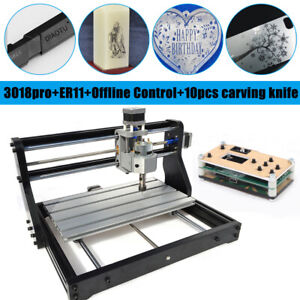 Cnc 3018 Pro Cnc Router Machine 3axis Milling Cutter Engraver Offline Controller