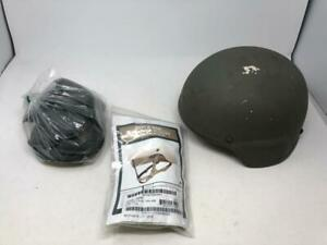 MSA ACH Large Helmet w New Ops Core Chinstrap amp; Pads $237.96