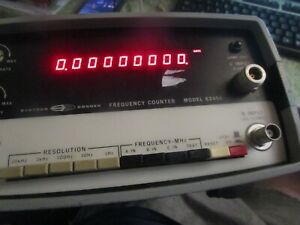 Systron Donner Frequency Counter 6245a Powers On
