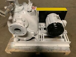 10 Hp Gorman Rupp Trash Pump 3 Inch Suction And Discharge