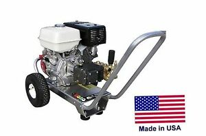 Pressure Washer Portable Cold Water 4 Gpm 4200 Psi 13 Hp Honda Eng Cat