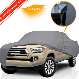 Truck Cover Custom For 1999 2014 Chevrolet Silverado 1500 All Weather Protection