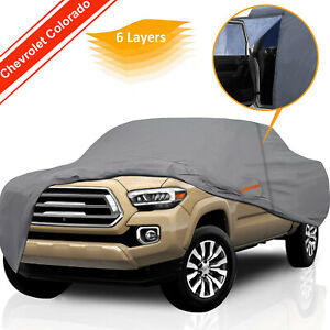 Truck Cover For 2015 2021 Chevrolet Colorado Custom Fit All Weather Waterproof
