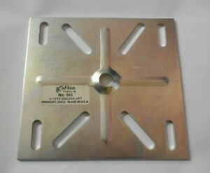 Cal Van 583 V Type Engine Stand Lift Plate Small Block Chevrolet