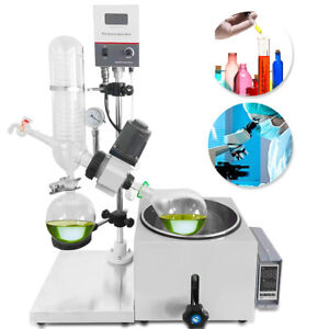 2l Lab Rotary Evaporator 2l Evaporation Flask 1l Collecting Bottle Usa