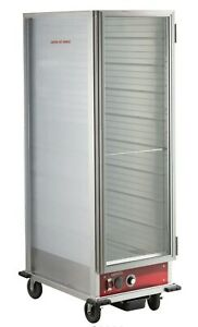 Commercial Heated Holding Cabinet Glass Door full Size