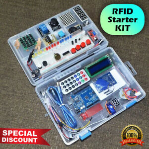 Rfid Starter Kit For Arduino Uno R3 Upgraded Version Learning Suite With Box Usa