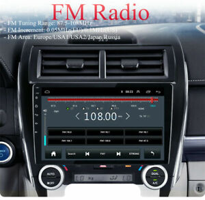 10 1 Android 10 1 Car Radio Stereo Mp5 Gps Navi Wifi For 2012 2014 Toyota Camry