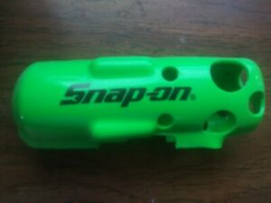 Snap On Red Protective Boot Cover Ct761 Green Cordless Impact Wrench Gun