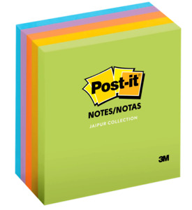 New Post it Notes 3 X 3 Jaipur Pack Of 5 Pads 100 Sheets Each