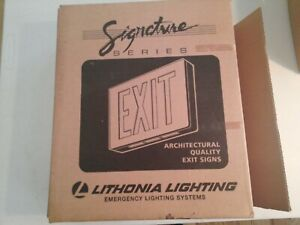 Lithonia Lighting Signature Series Architectural Quality Exit Sign