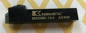 Kennametal Right Hand Negative Rake Indexable Turning Toolholder Msdnn 124 Aonw