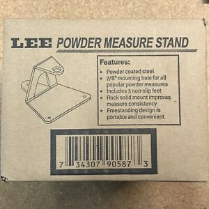 Lee Powder Measure Stand 90587 NEW in box $40.00