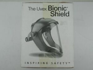 Bionic Shield The Uvex S8500 Faceshield Clear Uncoated Polycarbonate Visor