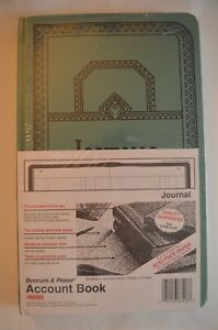 Boorum Pease Account Book Journal 66 3000 j 300 Pages