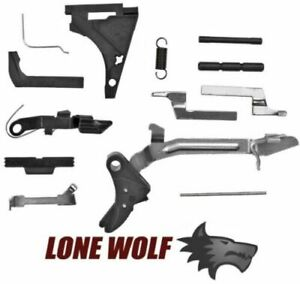 Lone Wolf Trigger Parts for Glock 17 22 31 26 27 33 Kit Full Size Frame Poly $62.97