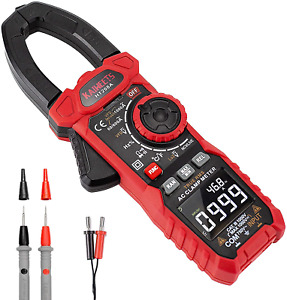 Kaiweets Ht208a Digital Ac Clamp Meter Auto Lcd Multimeter Ohm Cap Freq Ce Vfd